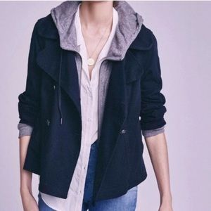 ANTHROPOLOGIE | hei hei layered solid jacket